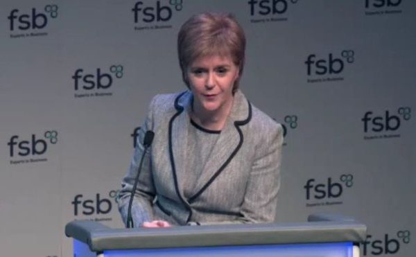 British Hydropower Association - Nicola Sturgeon
