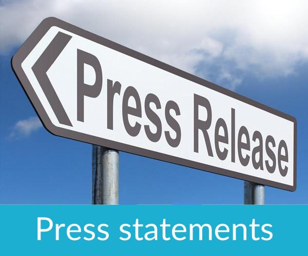 BHA Press statements